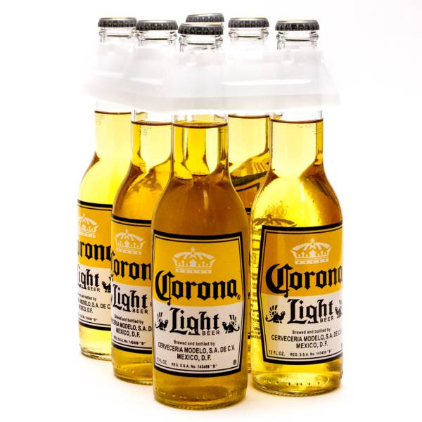 Corona Light Imported Beer 12oz Bottle 6 Pack Beer