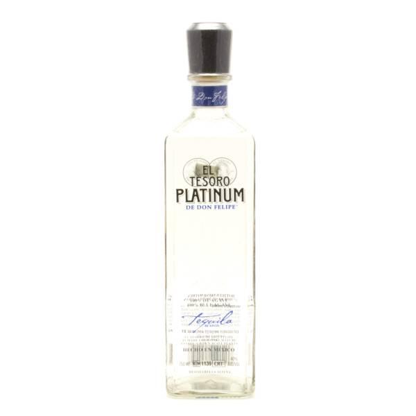 El Tesoro - Platinum Tequila - 750ml