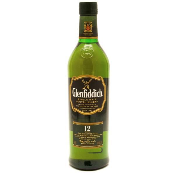 Glenfiddich - 12 Years Old Single Malt Scotch Whisky - 750ml