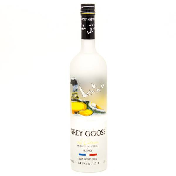 Grey Goose - Le Citron Vodka - 750ml