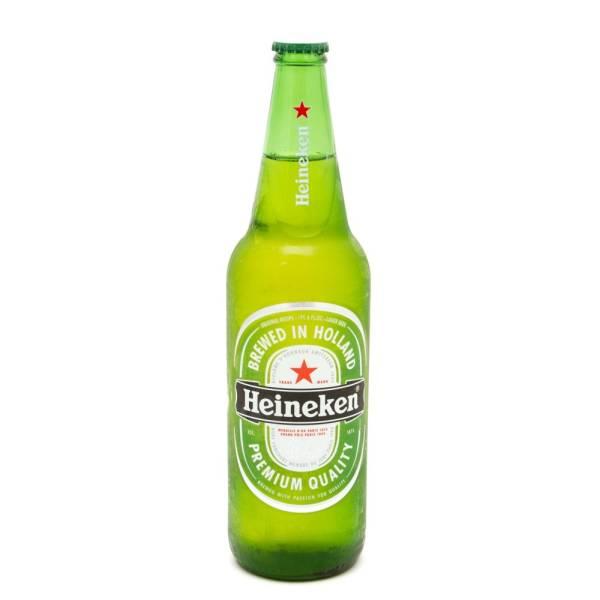 Heineken - Lager Beer - 22oz Bottle
