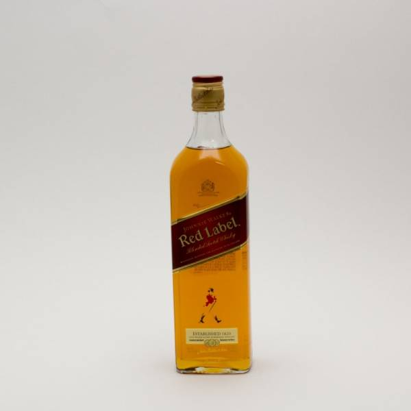 Johnnie Walker - Red Label - Blended Scotch Whiskey - 750ml