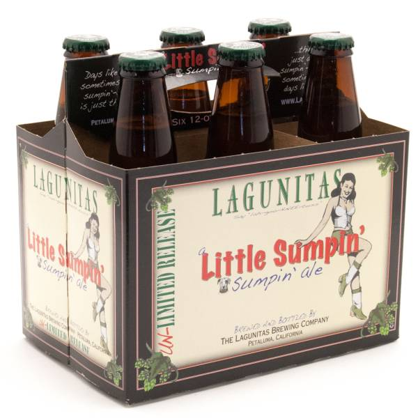 Lagunitas - Little Sumpin' Ale - 12oz Bottle - 6 Pack