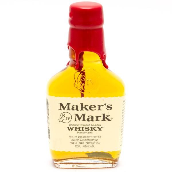 Maker's - Mark Kentucky Straight Bourbon Whiskey - 200ml