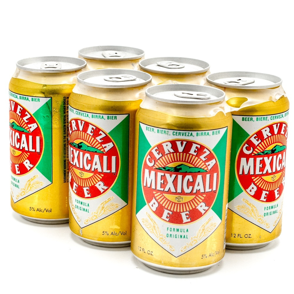 Mexicali - Imported Beer - 12oz Can - 6 Pack