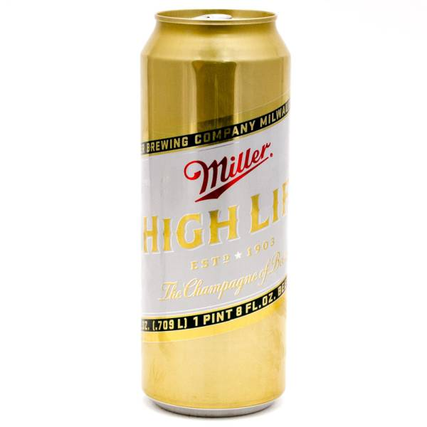 Miller - High Life - Beer - 24oz Can