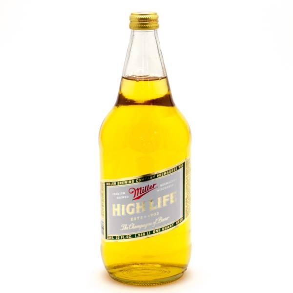 Miller - High Life - Beer - 32oz Bottle