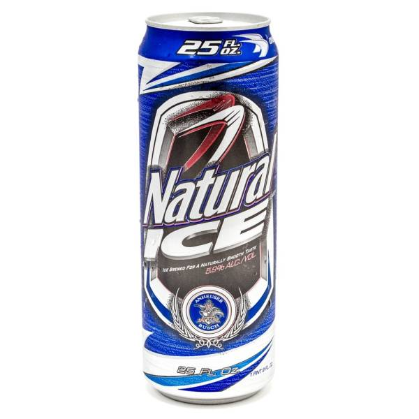 Natural ICE - Beer - 24oz Can
