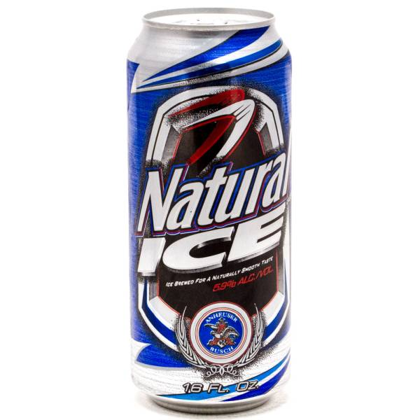 Natural Ice - Beer - 16oz Can