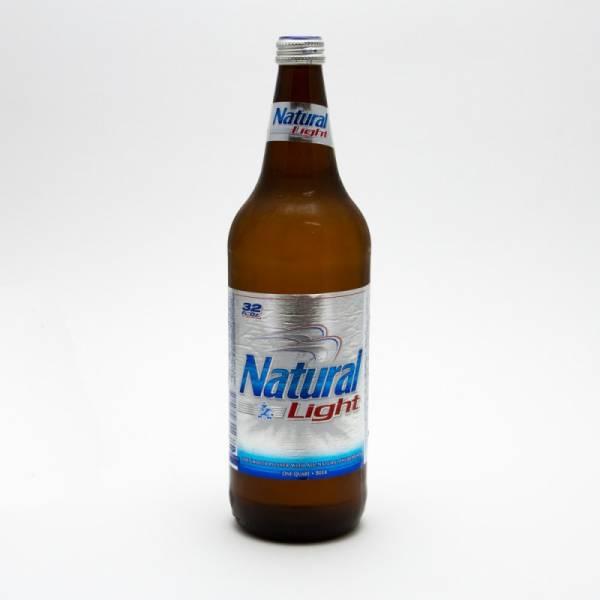 Natural Light - Beer - 32oz Bottle