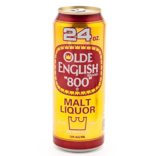 Olde English - 800 Malt Liquor - 24oz Can