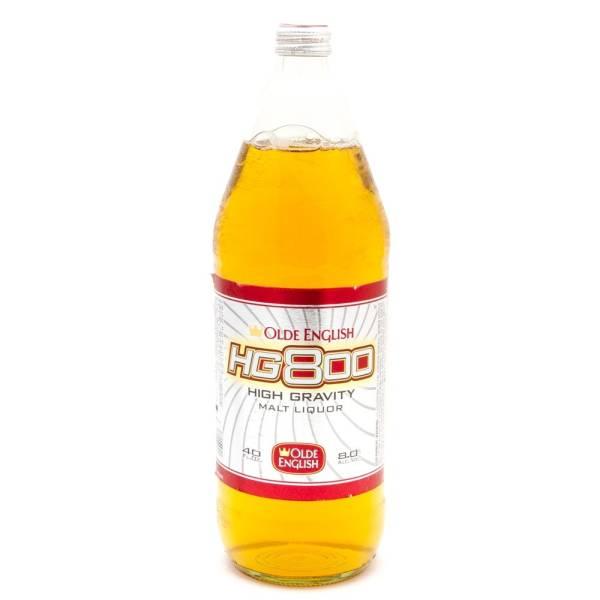 Olde English - HG 800 - High Gravity Malt Liquor - 40oz Bottle