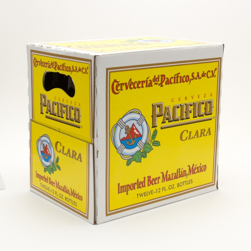 Pacifico - Imported Beer - 12oz Bottle - 12 Pack