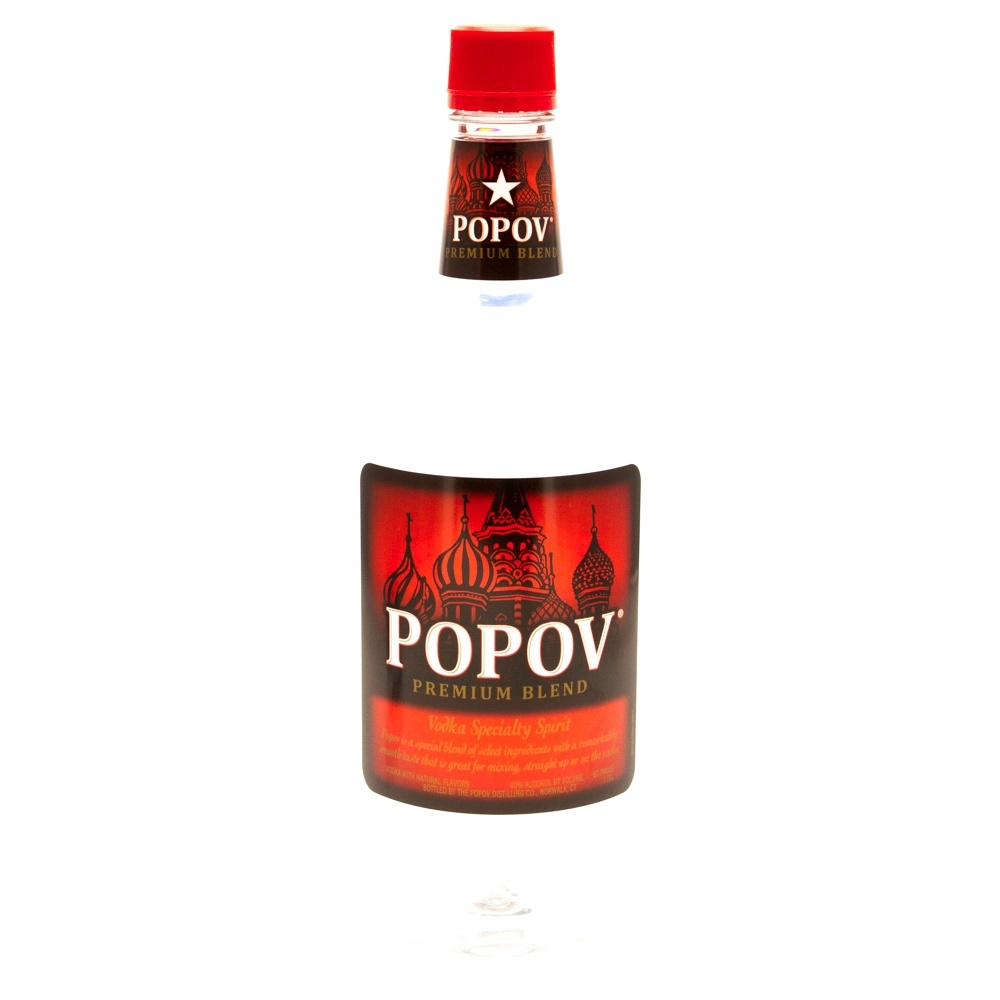 Popov - Vodka Red - 1.75L