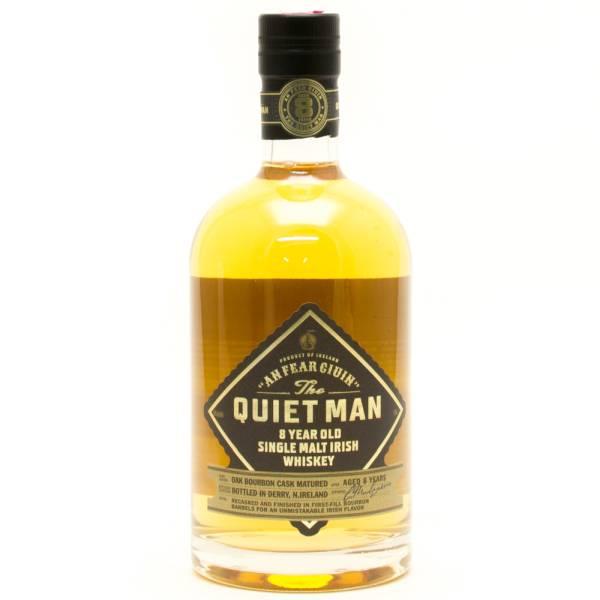 Quiet Man - 8 Year Old - Single Malt Irish Whiskey - 750ml