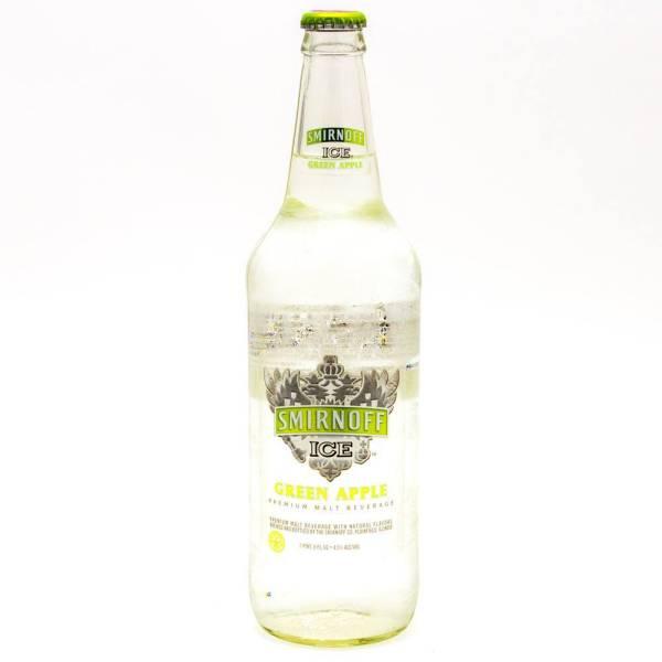 Smirnoff Ice - Green Apple - 24oz Bottle