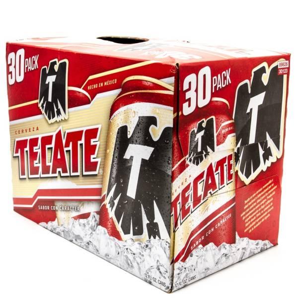 Tecate - Beer - 12oz Can - 30 Pack