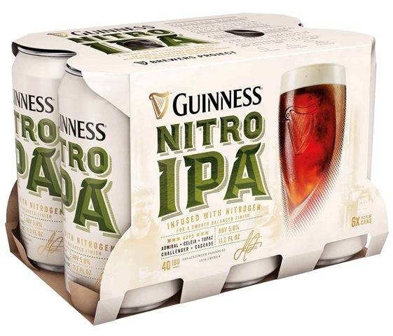 Guinness - Nitro IPA - 11.2oz Can - 6 Pack