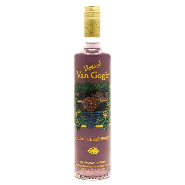 Van Gogh Acai-Blueberry Vodka 750mL