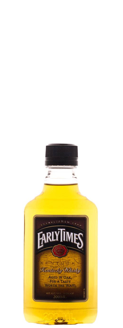 EARLY TIMES WHISKY 200mL