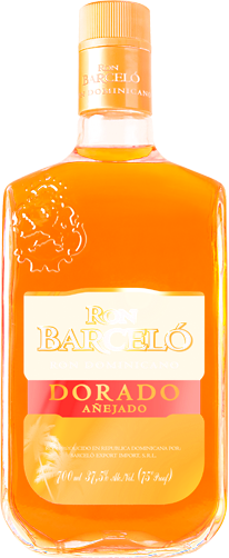 Ron Barcelo Dorado Añejo Rum 750mL