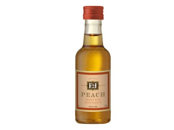 E & J Peach Brandy 50mL