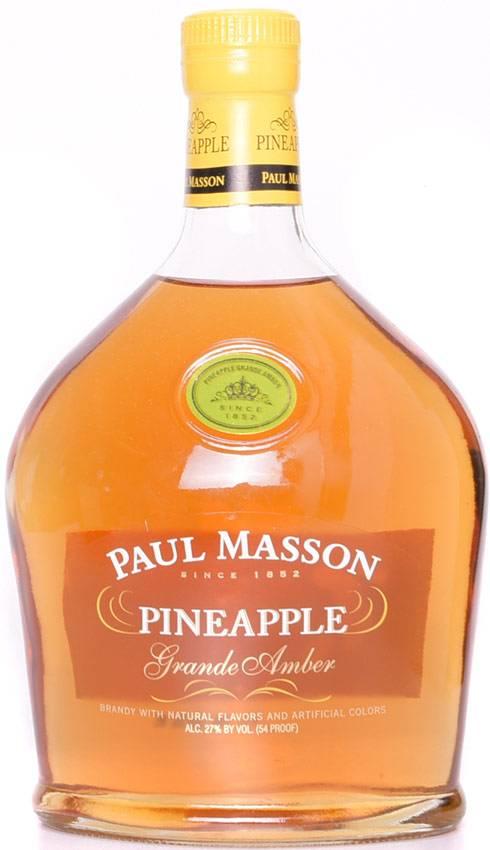 PAUL MASSON PINEAPPLE BRANDY 750 ML