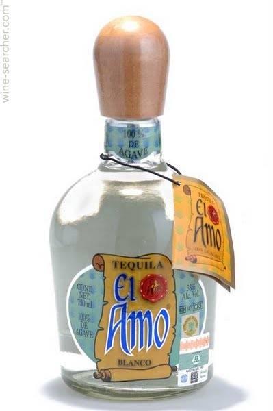 Tequila El Amo Silver 750mL