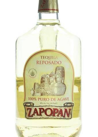 Tequila Zapopan Reposado 375mL