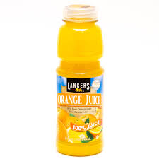 Langers Orange Juice 16oz.