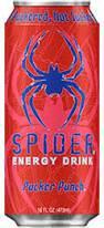 Spider Energy Drink Pucker Punch - 16oz