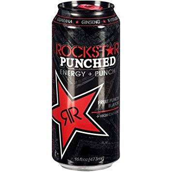 RockStar Punched Energy + Punch (Fruit Punch) - 2.30oz