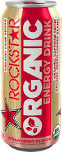 RockStar Organic Energy Drink - 8oz.