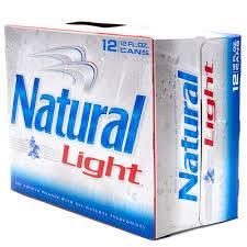 Natural Light - Beer - 12oz can - 12 pack