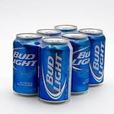Bud Light - Beer - 12oz can - 6 pack