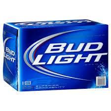 Bud Light - Beer - 12oz. can - 18 pack