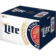Miller - Lite - Beer - 12oz can - 12 pack