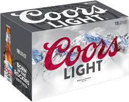 Coors Light - Beer - 12oz bottle - 18 pack