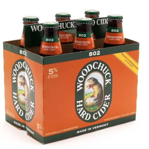 Woodchuck - Hard Cider - Traditional Pressed Apple - 12oz bottles - 6 pack