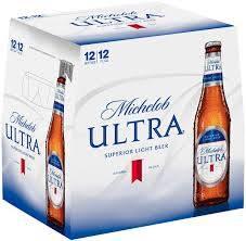 Michelob Ultra - Beer - 12oz bottle - 12 pack