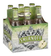 Smirnoff Ice - Green Apple - 11.2oz bottle - 6pack
