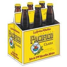 Pacifico Clara - 12oz. bottle - 6 pack