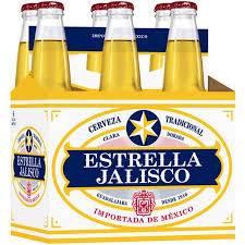 Estrella Jalisco - Imported Beer - 12oz. Bottle - 6 pack