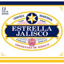 Estrella Jalisco - Imported Beer - 12oz. Bottle - 12 pack