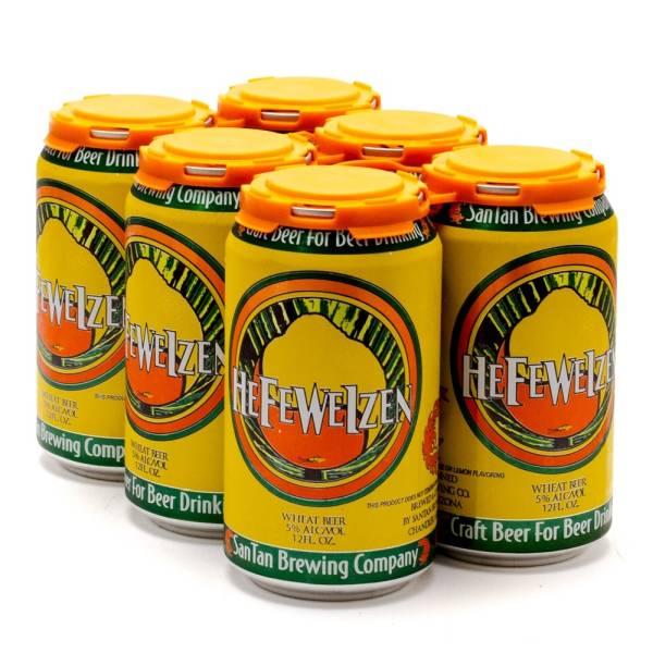 SanTan HefeWeizen - Beer - 12oz can - 6 pack