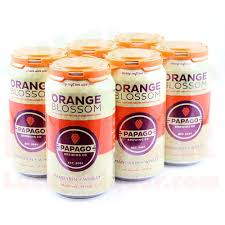 Orange Blossom Mandarin + Wheat - Beer - 12oz can - 6 pack