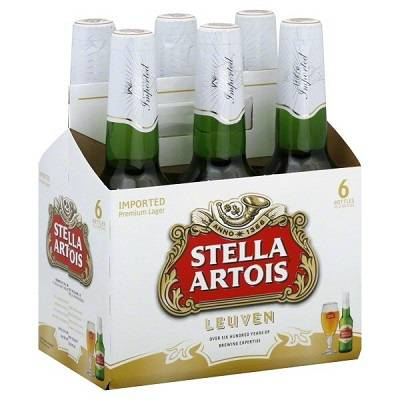 Stella Artosis - Belgium - Beer  - 12oz bottle - 6 pack