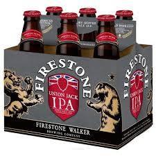Firestone - Union Jack - Beer - 12oz bottle - 6 pack