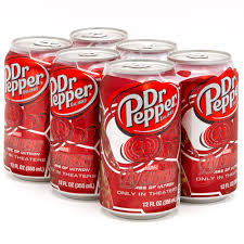 Dr Pepper - Soda - 6 Pack Cans