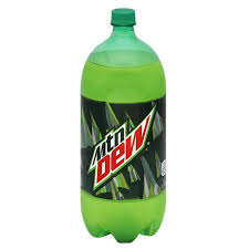 Mountain Dew - Soda - 2 Liters